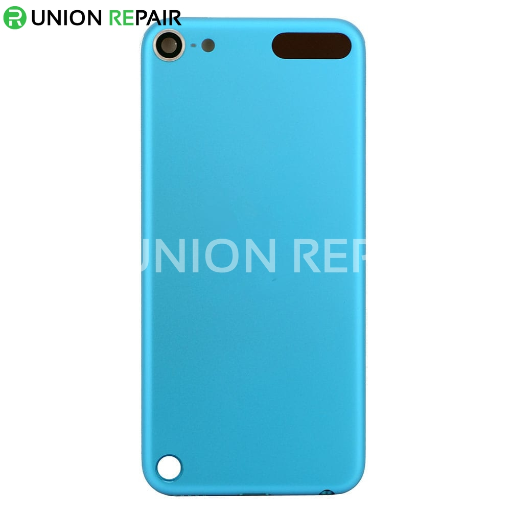 sale retailer 2b4f4 51186 Replacement for iPod Touch 5th Gen Back Cover Blue