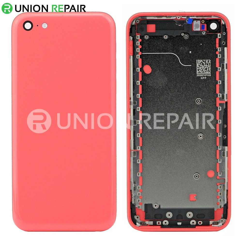 uk availability e8376 33b57 Replacement for iPhone 5C Back Cover - Pink