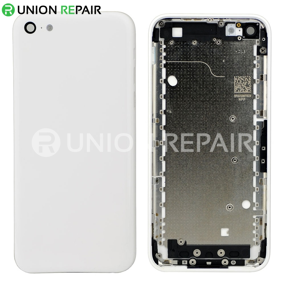 pretty nice 0dacd c288d Replacement for iPhone 5C Back Cover - White