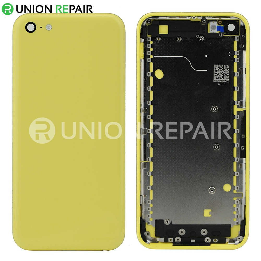 buy popular cbaab b2131 Replacement for iPhone 5C Back Cover - Yellow