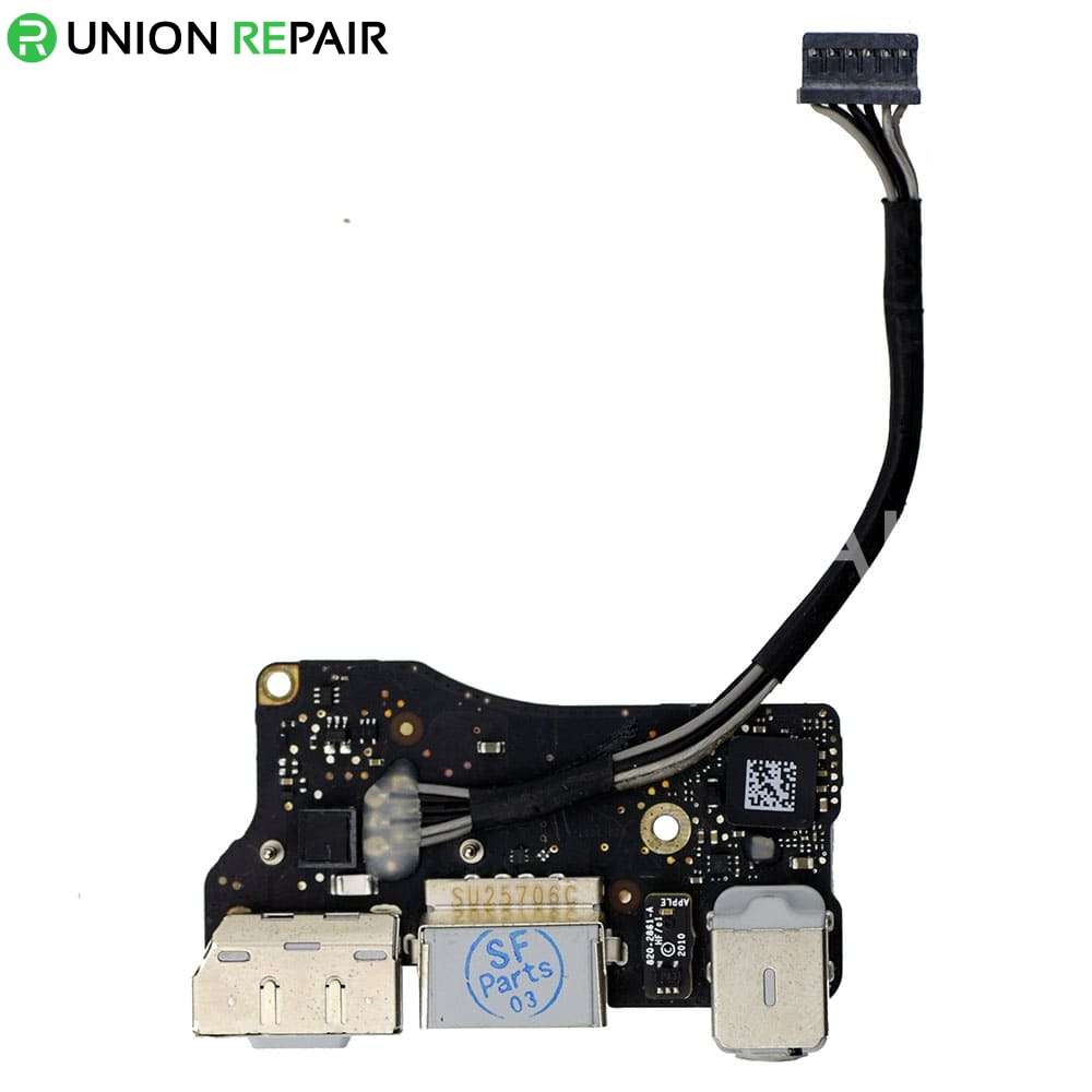 "I/O Board (MagSafe, USB, Audio) For MacBook Air 13"" A1369"