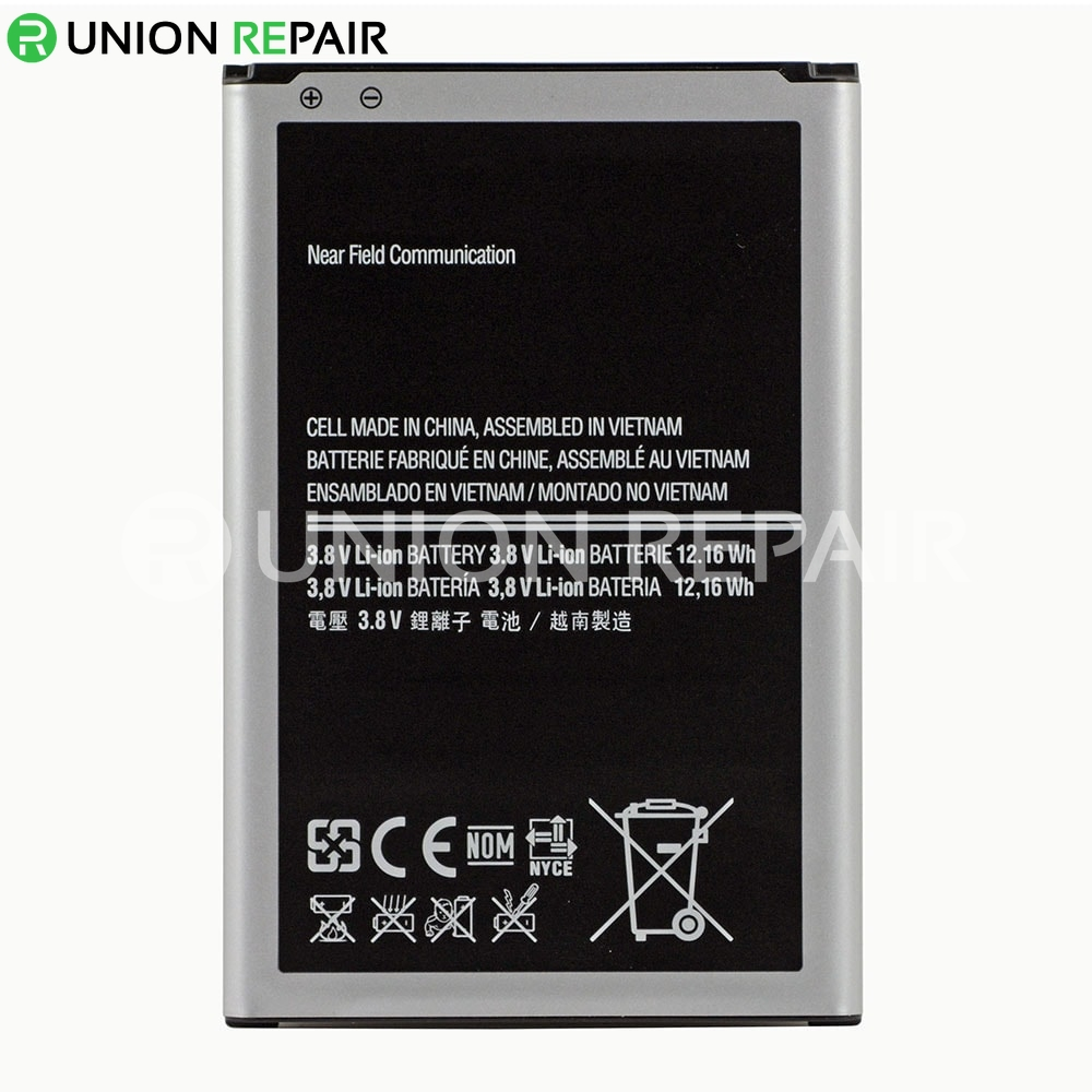 Replacement for Samsung Galaxy Note 3 Battery Replacement