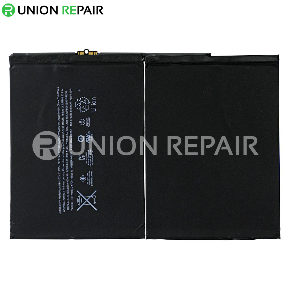 Replacement for iPad Air/iPad 5/iPad 6 A1484 Battery 8827mAh