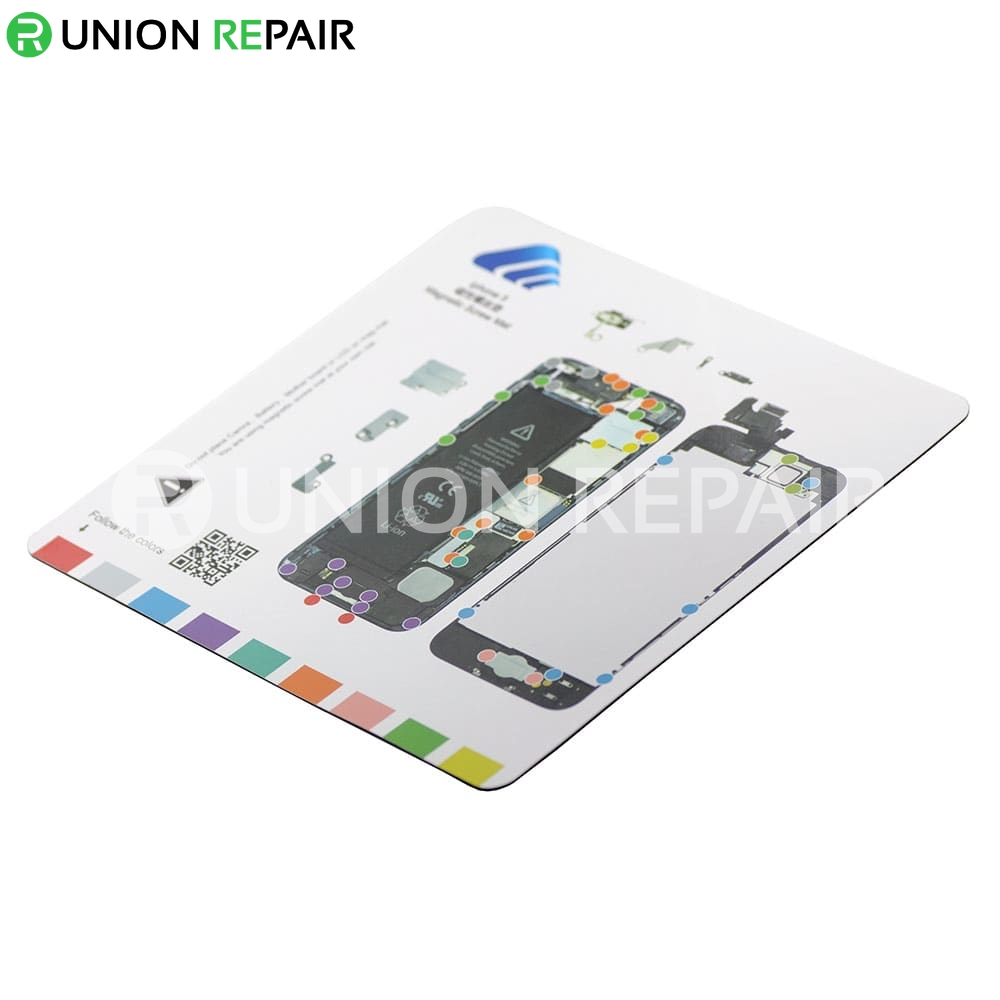 Magnetic Screw Mat for iPhone 5