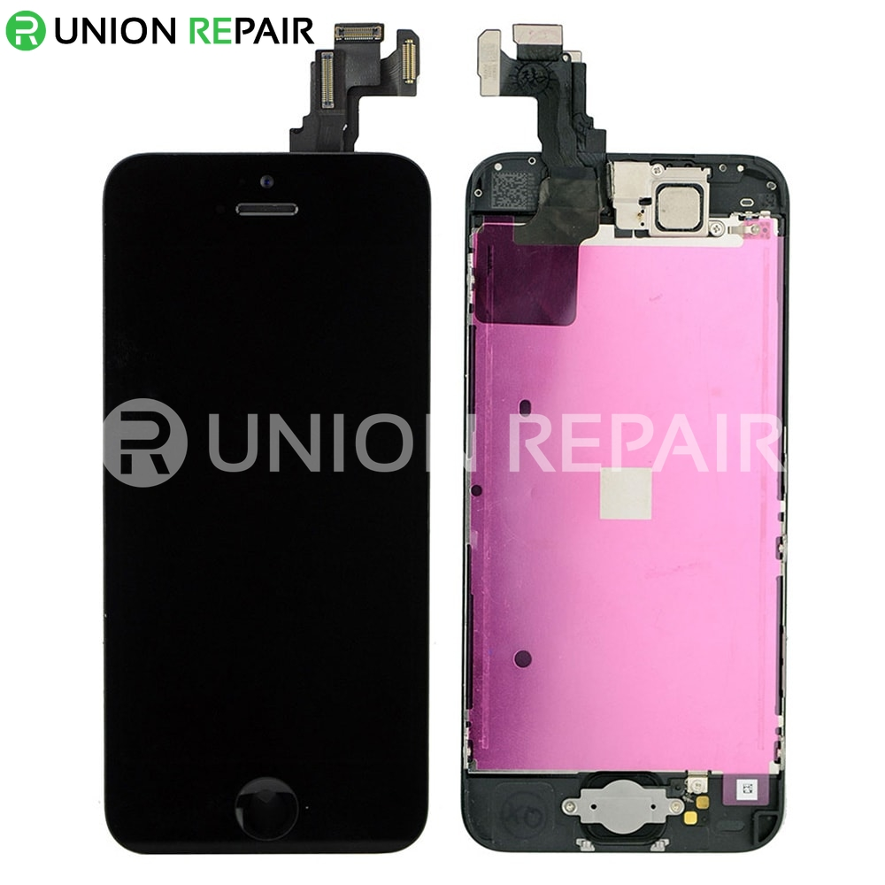 my iphone 5c screen went black replacement for iphone 5c lcd screen assembly black 19400