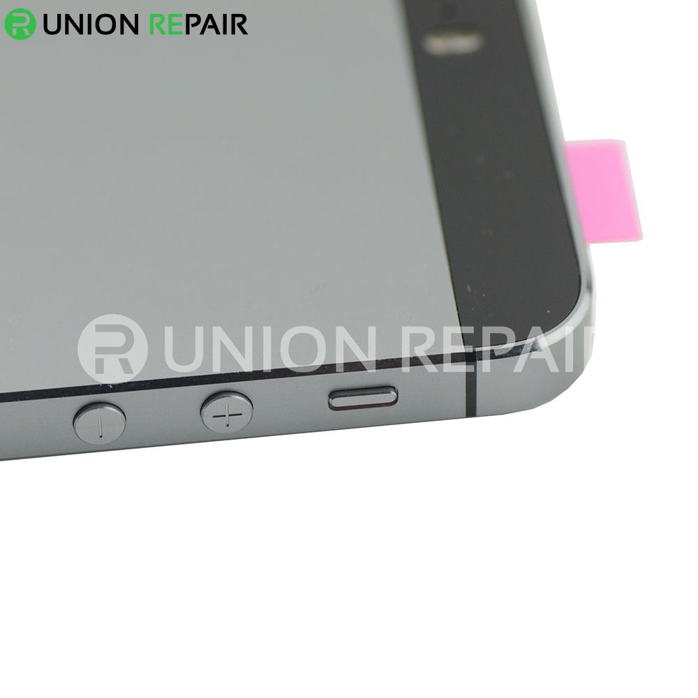 iphone 5s back replacement replacement for iphone 5s back cover assembly gray 14741