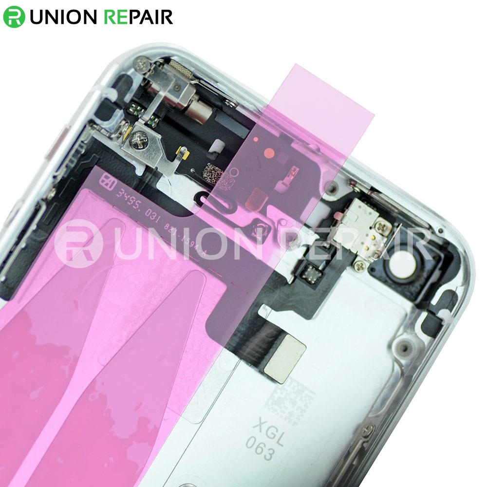iphone 5s back replacement replacement for iphone 5s back cover assembly silver 14741