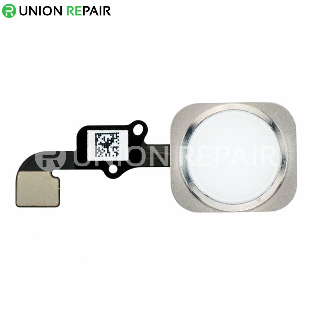 low priced e0d3f ba06b Replacement for iPhone 6/6 Plus Home Button Assembly - Silver