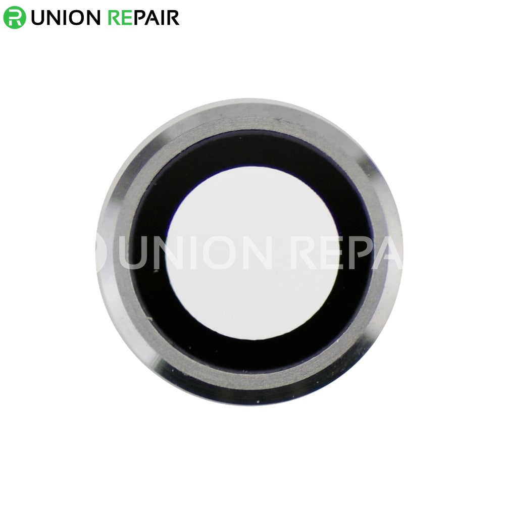 new style 97ef9 12893 Replacement for iPhone 6/6S Rear Camera Holder with Lens - Silver