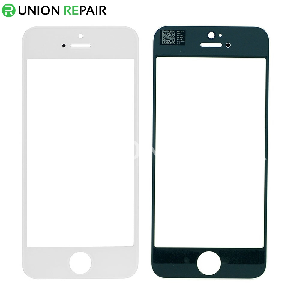 Replacement for iphone 5 front glass lens white - Reparation telephone lens ...