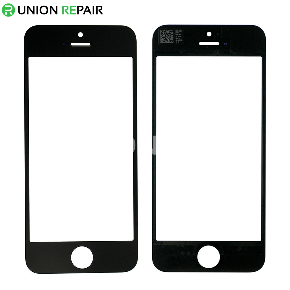 iphone 5 glass replacement replacement for iphone 5 front glass lens black 14521