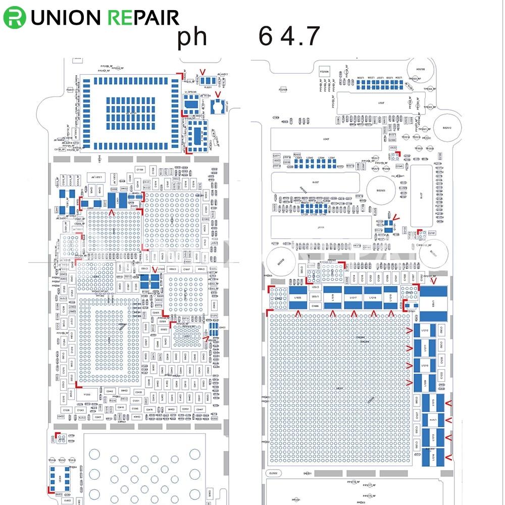 schematic diagram searchable pdf for iphone 6 6p 5s 5c 5 4s 4 pdf rh unionrepair com Computer Circuit Diagram Electrical Circuit Diagrams