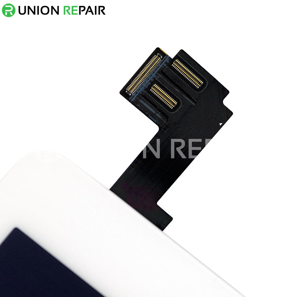 Replacement for iPad Air 2 LCD with Digitizer Assembly without Home Button - White