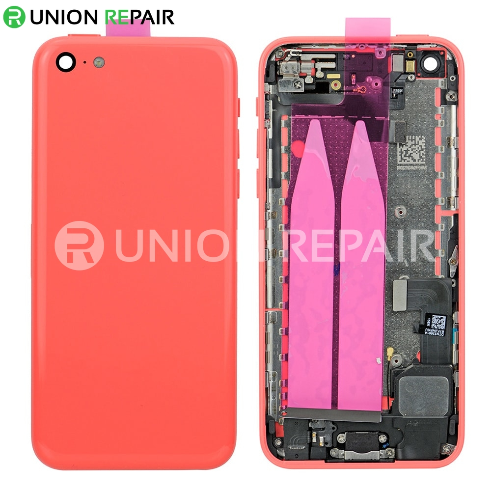 Replacement for iPhone 5C Back Cover Full Assembly - Pink