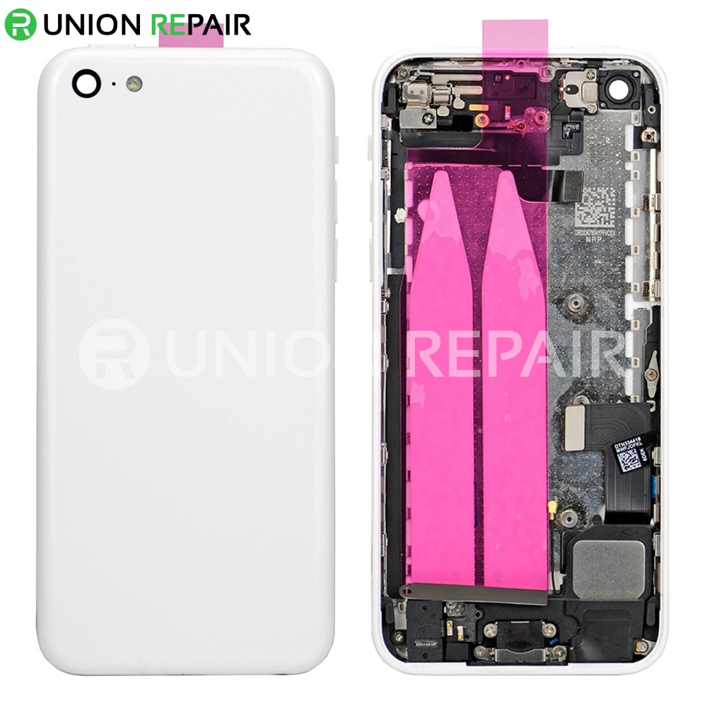 huge discount d99ac a00b9 Replacement for iPhone 5C Back Cover Full Assembly - White