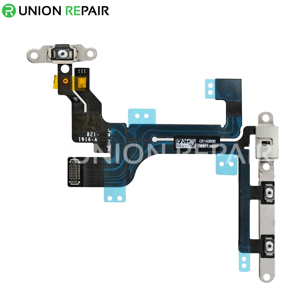 5c Control Cable : Replacement for iphone c power on off control flex cable
