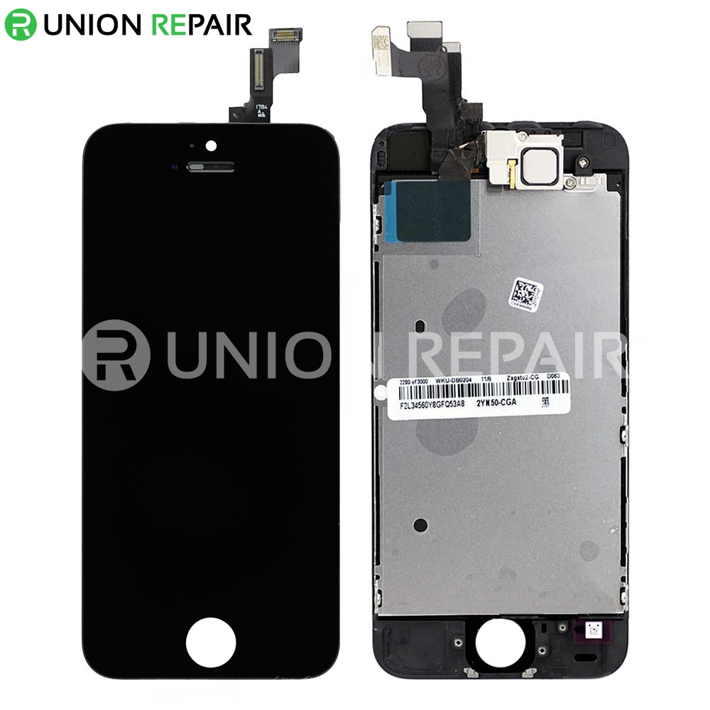 iphone 5s black screen replacement for iphone 5s lcd screen assembly without 14749