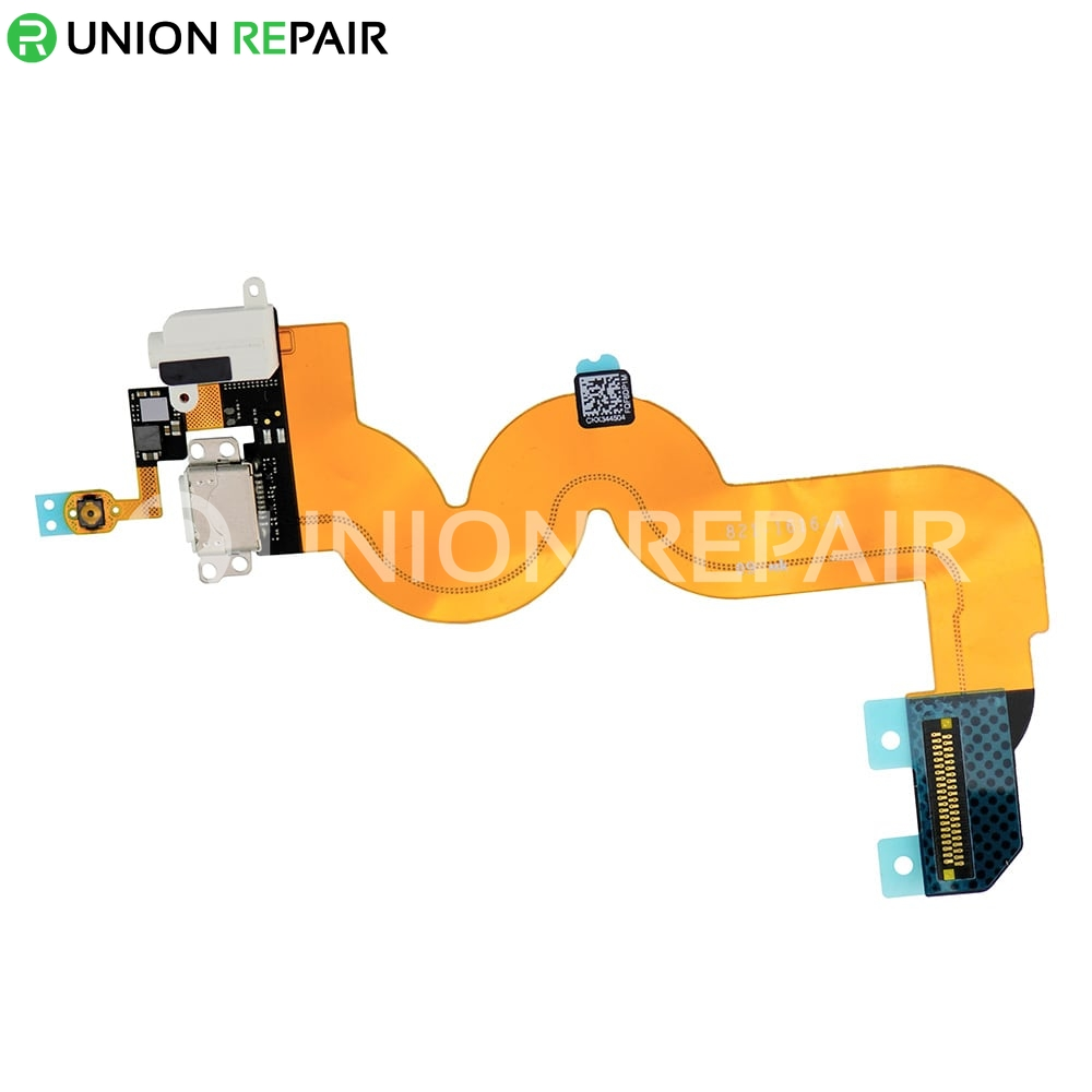Replacement for iPod Touch 5th Gen USB Charging Connector Flex Cable White
