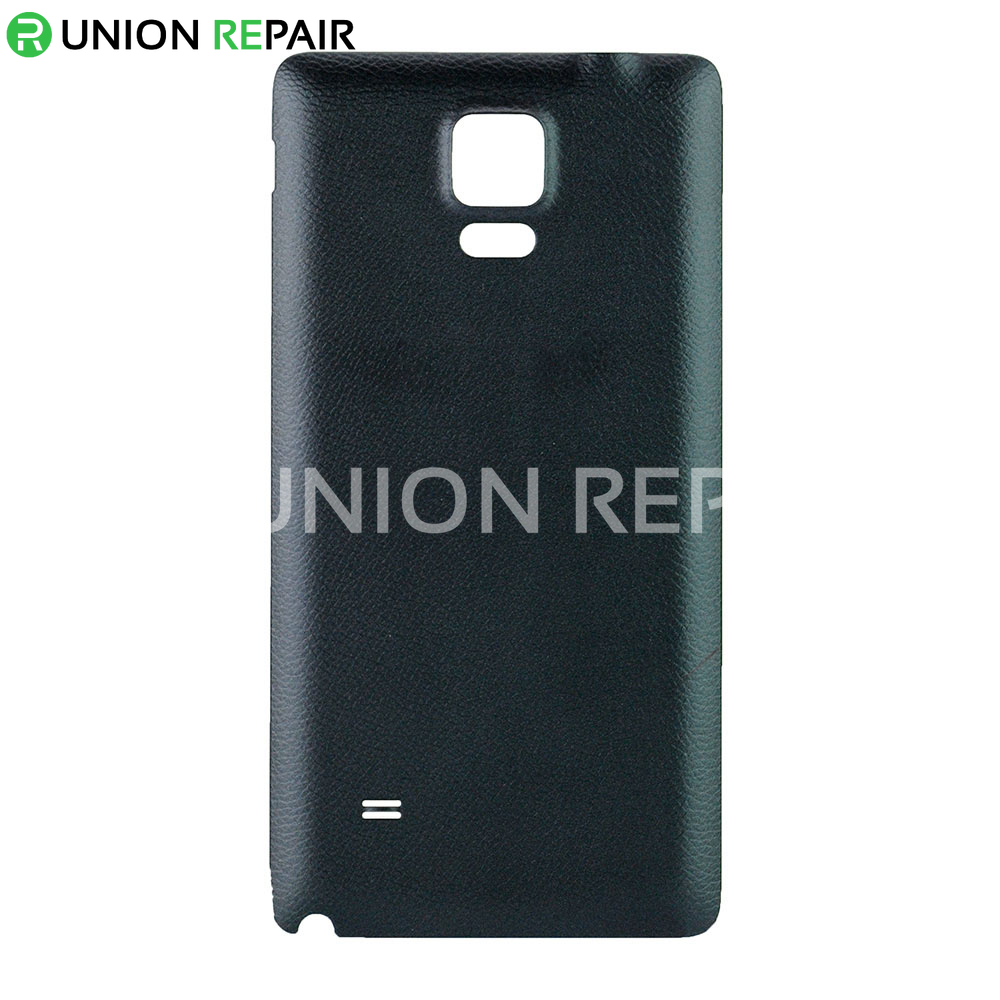 reputable site 97e21 32db6 Replacement for Samsung Galaxy Note 4 Back Cover-Black