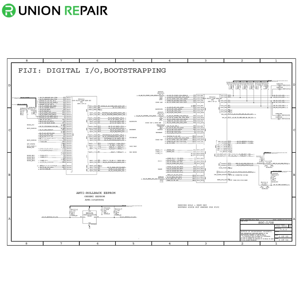 Schematic Diagram (searchable PDF) for iPad 1/2/3/4/Air
